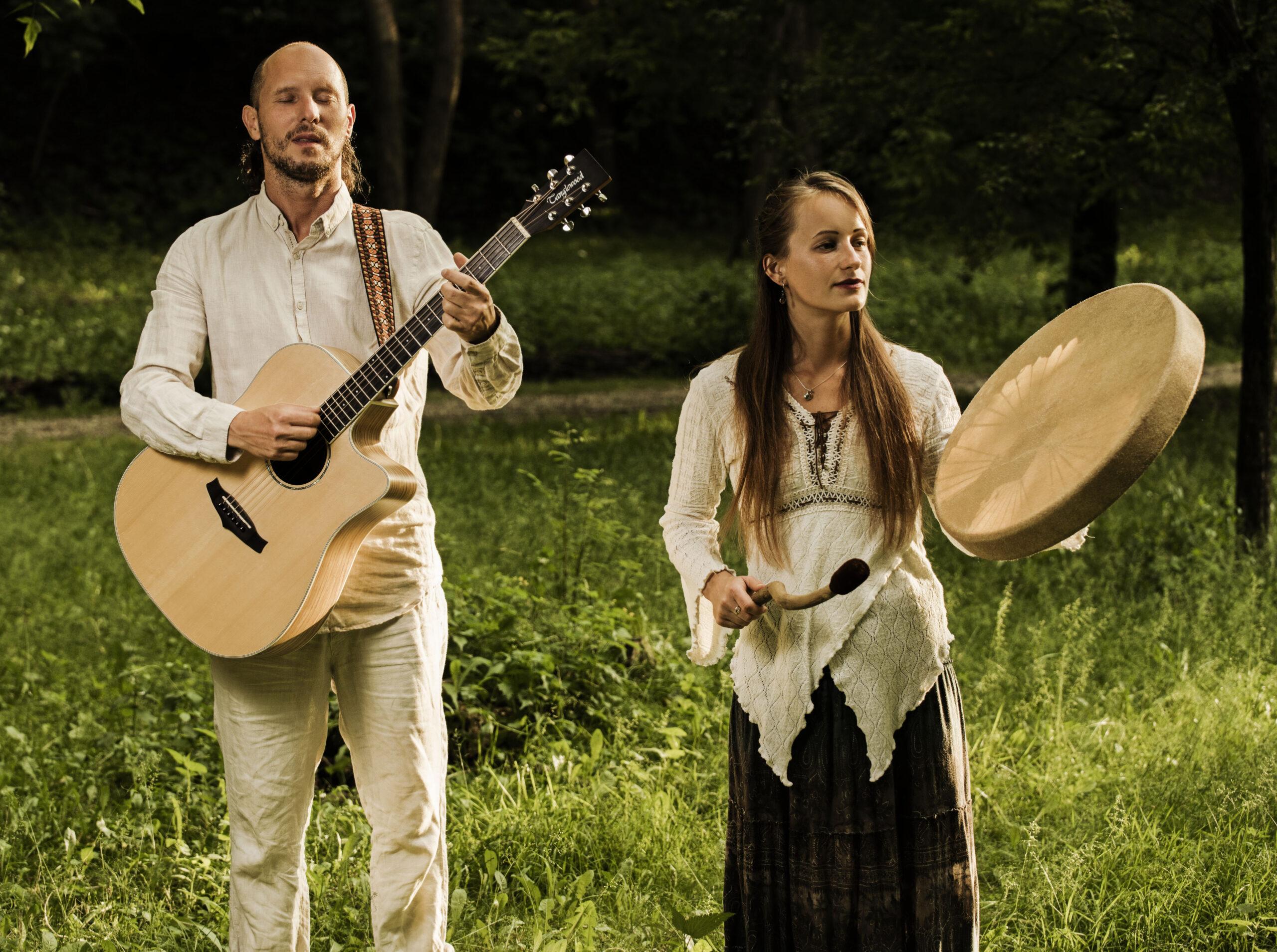 Soundlove Medicine Szaman Będen Gitara